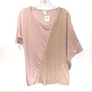 BNWT Club Monaco Carrie Silk/Lyocel Top Tricot Xs